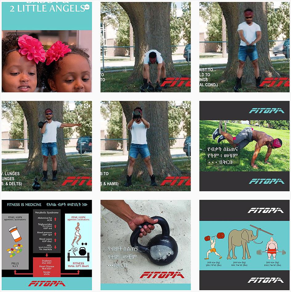 fitopia fitness ethiopia ethiopian canada canadian dawit addisu tereteret